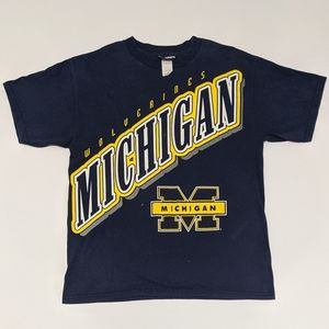 90s Michigan Wolverines T-shirt